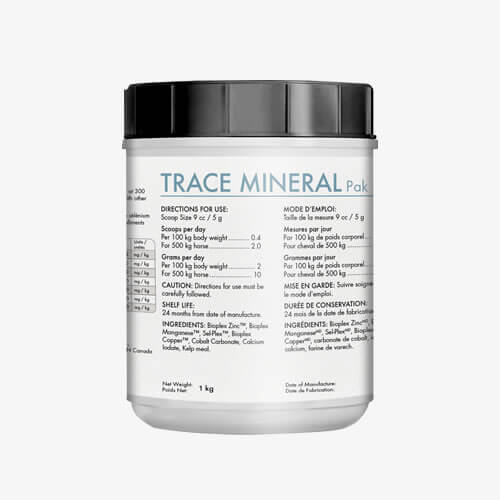 Mad Barn Trace Mineral Pak 1 Kg - Label