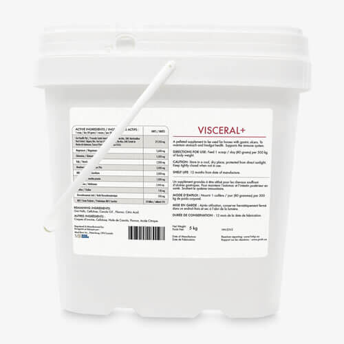 Mad Barn Visceral+ 5 Kg - Label